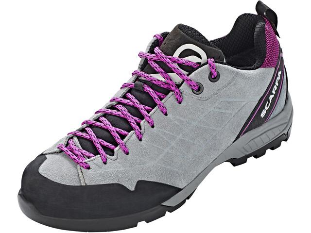 Scarpa Epic GTX Zapatillas Mujer, metal gray/fuxia
